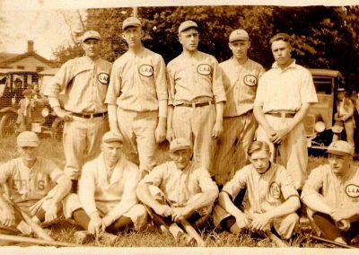 Baseball-Team 1800s